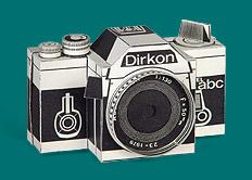 Dirkon paper camera
